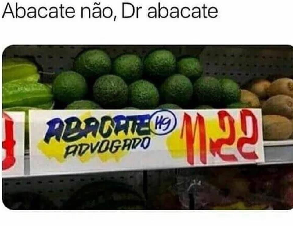 Dr. Avocado, por favor.